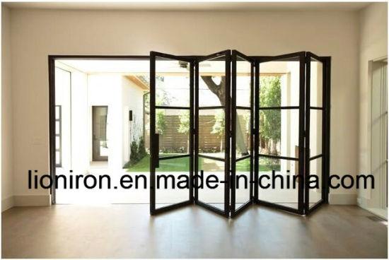 Interior Glass Sliding Barn Door French Iron Door For Dining Room