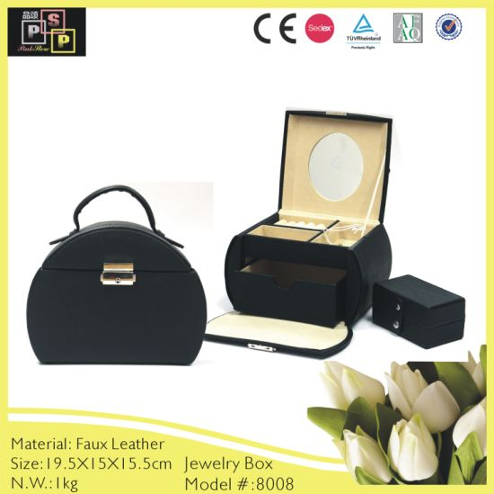 Decorations Custom Leather Jewelry Storage Packaging Jewelry Box (8006) pictures & photos