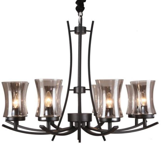 Black Iron Chandelier Lighting Interior Lamp (SL2246-6) pictures & photos