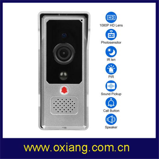 1080P PIR WiFi Video Doorbell 1/3 CMOS Night Vision WiFi Video Door Phone