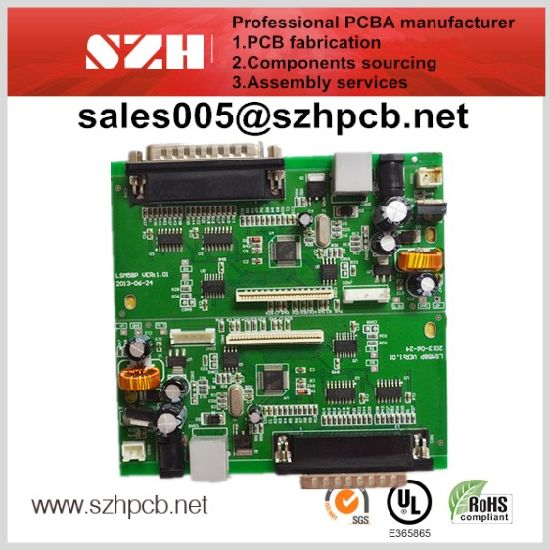 china hasl rigid printed circuit pc board assembly china pcba, pcb