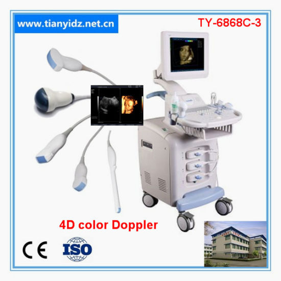 Low Cost 3D 4D Color Doppler Ultrasound System pictures & photos