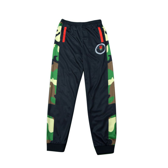 China Full Sublimation Printing Sports Pants Men's Training Custom Long Trousers