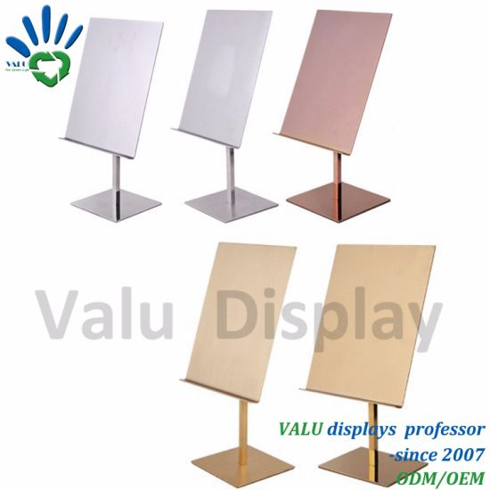 with EVA Non-Slip Mat T-Shirt Display Frame T Shirt Table Stand