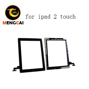 Factory Price New Touch Screen Digitizer W/Home Button Replacement Assembly  for iPad 2 2g 2ND