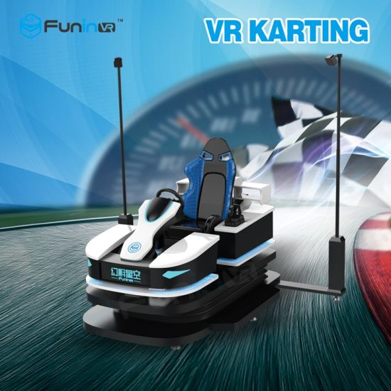 06912b5a577 Online Game 9d Racing Car Game Machine Vr Karting Simulator in Shopping  Centre pictures   photos
