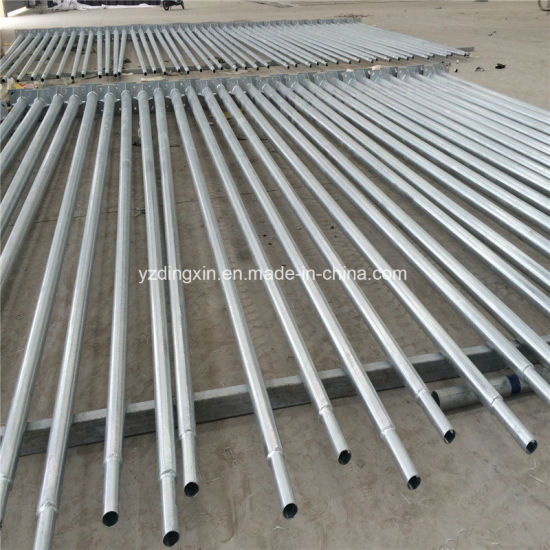 China 4m 5m 6m 7m 8m 9m 10m 11m 12m Hot Deep Galvanized Pole in