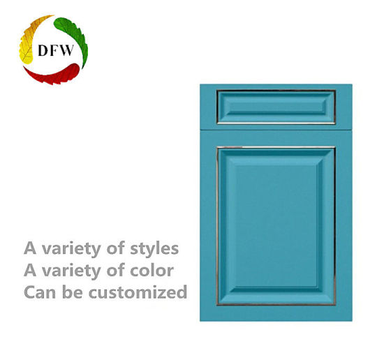 Imitation Real Wood PVC MDF Core Custom Cabinet Door For Wardrobe/Shoe  Cabinet/Kitchen Cabinet
