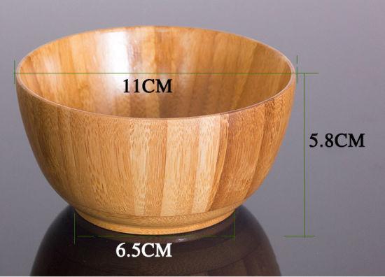 Wooden Tableware Eco-Friendly Baby Bowl Dinnerware Bowls