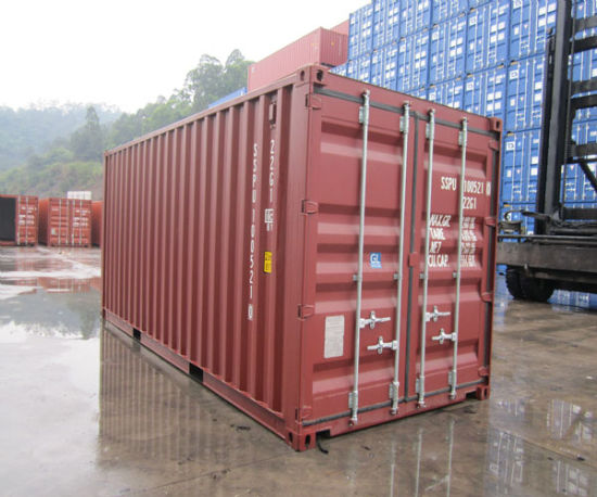 New 20 Ft Shipping Containers of Canned and Dry Foods