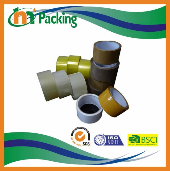China Manufacture Water Based Acrylic BOPP Packing Adhesive Tape pictures & photos
