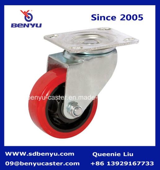 Industrial Polyurethane Castor, Medium Heavy Duty Caster, PU Wheel