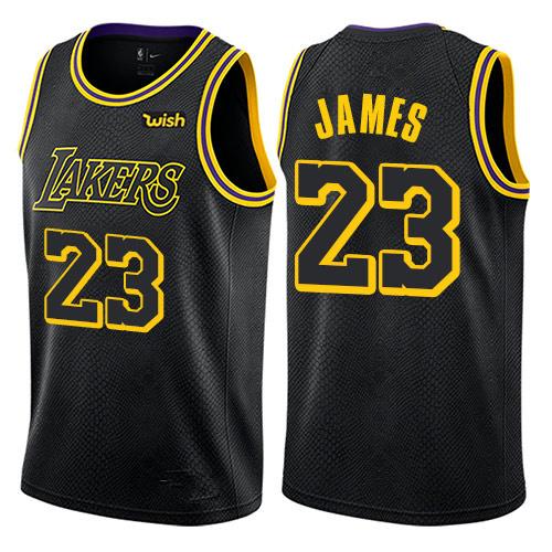 cheaper b8d8d 8405b Custom Customized Lakers Jerseys 23 Lebron James Basketball Jerseys