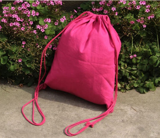 OEM Personalized Colored Drawstring Bag pictures & photos