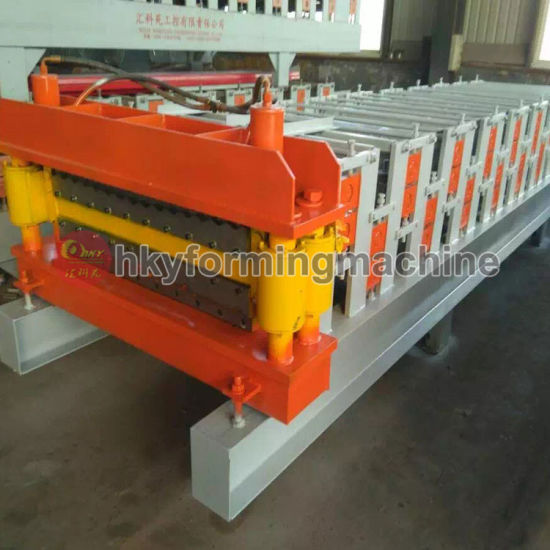 Hky Russia Type Roll Forming Machine (Glazed Tiles) pictures & photos