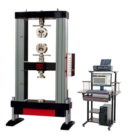 Wdw-20/50/100/200/300kn Computer Servo-Control Electronic Universal Tensile Strength Material Testing Machine