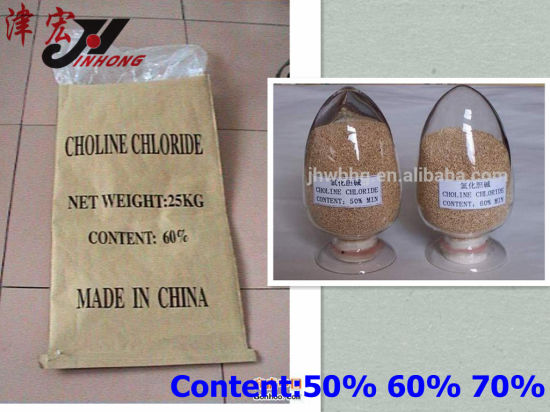 Animal Use Vitamin 4 Choline Chloride (C5H14ClNO)