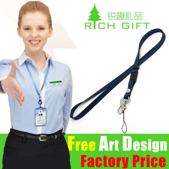 Wholesale Promotion Custom Printed Mobile Phone Lanyard as Business Gift pictures & photos