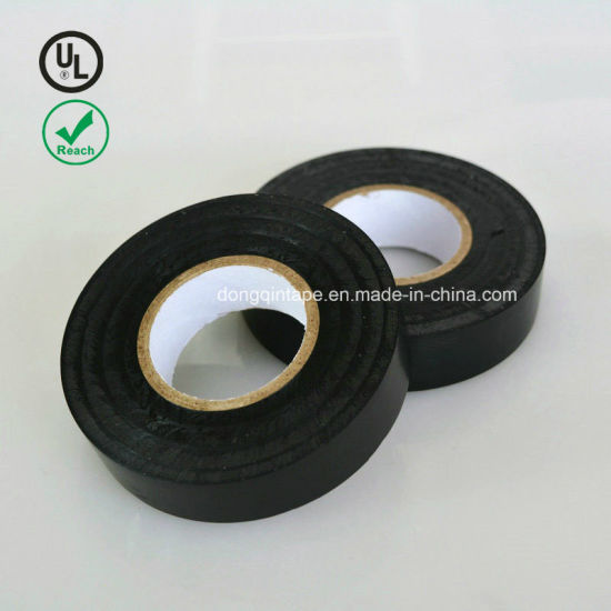 "Black PVC Electrical Tape - 60 Foot Roll 10-Pack UL Listed - 60′ X 3/4"" X 0.07"" pictures & photos"