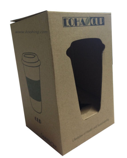 Corrugated Display Box for Coffee Win Cups pictures & photos