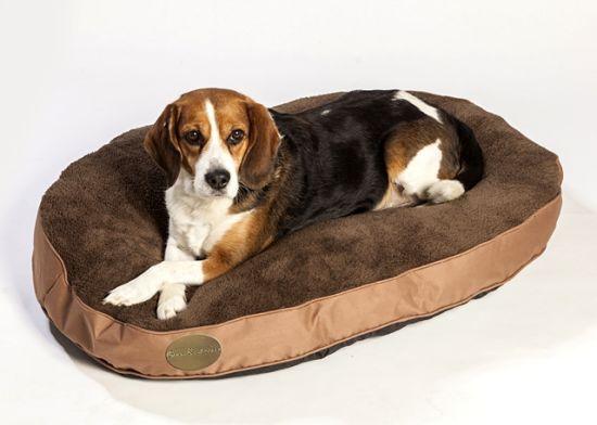 Luxury Pet Beds Dog Baskets Oval Pet Cushions