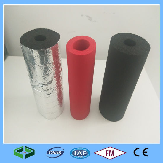 NBR/PVC Heat Resistant Air Conditioning Waterproof Rubber Foam Pipe Insulation Material