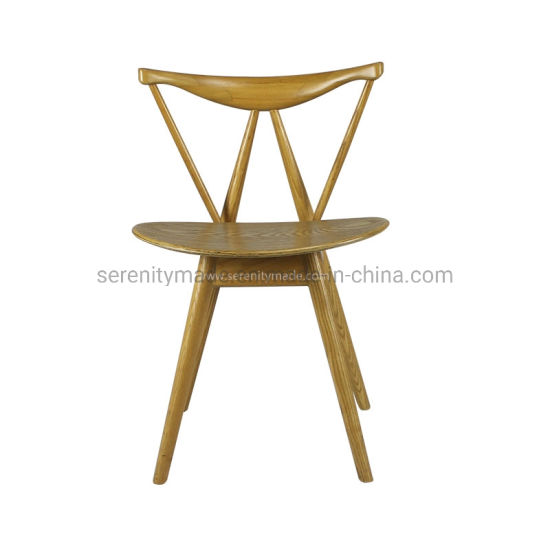 Wholesale Furniture Restaurant Chair Hotel Bar Wooden Chair Cafe Stool