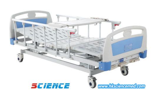 Hospital Manual Adjustable Nursing Bed