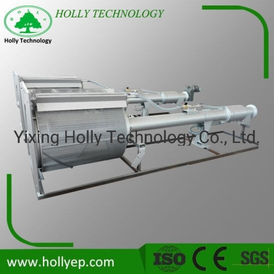 Rotating Drum Bar Screen Machine with Vibrating Screen for Wastewater Treatment