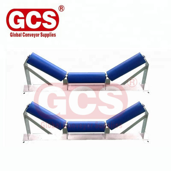Made in China Mining Industrial Belt Conveyor Trough Carrying Roller pictures & photos