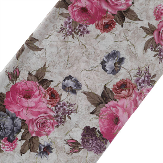 Polyester Printed Embossed Velvet/Velboa/Velour/Short Plush/Fleece Curtains Textile Sofa Fabric