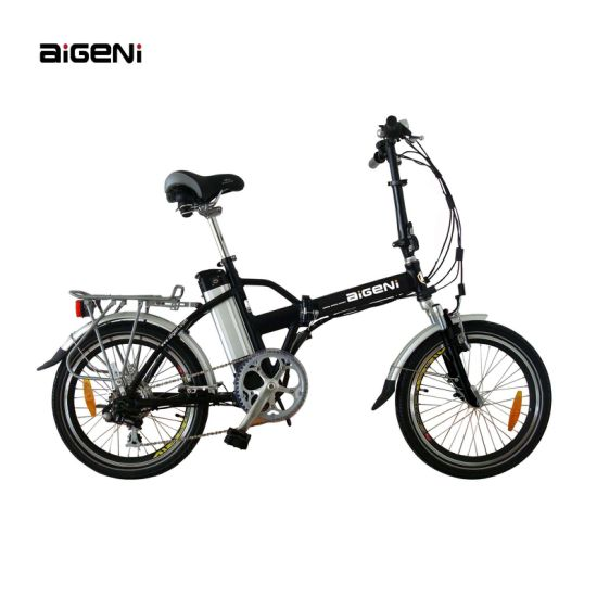 Folding E-Bike with Middle Battery