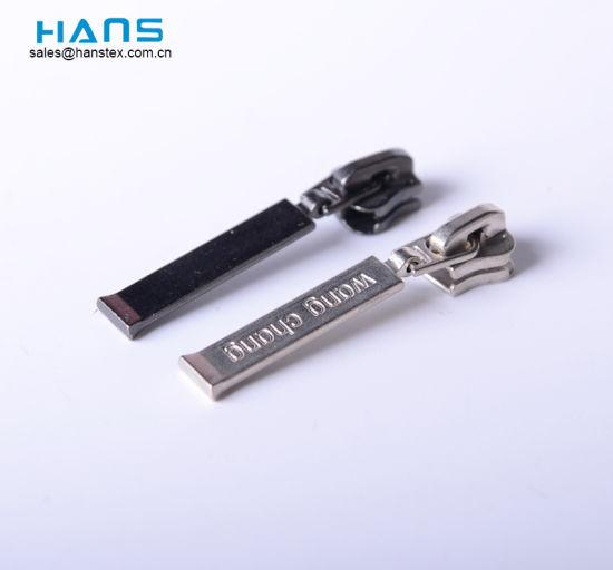 Hans Wholesale High Quality Custom Design Handbag Zipper Pulls