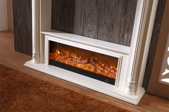 China Compact Popular Electric Fireplace With Heaters Lowes Mantel