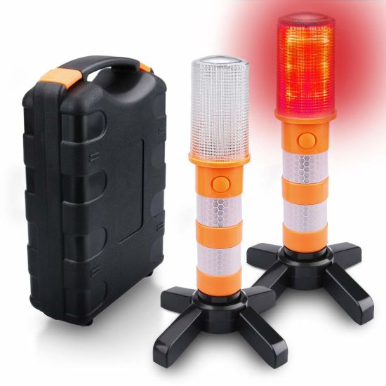 Safety Emergency Flashing Warning Light with Magnetic Base for Car Truck Boat pictures & photos