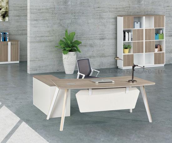 Modern Italian Melamine Executive Office Desk for Manager ...