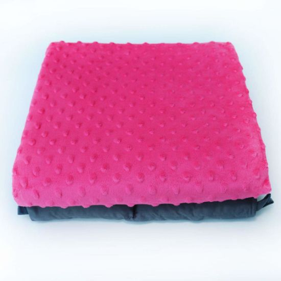 48*72 Inches or Customized Color Size Weighted Blanket Adult 15 Lbs to Reduce Stress