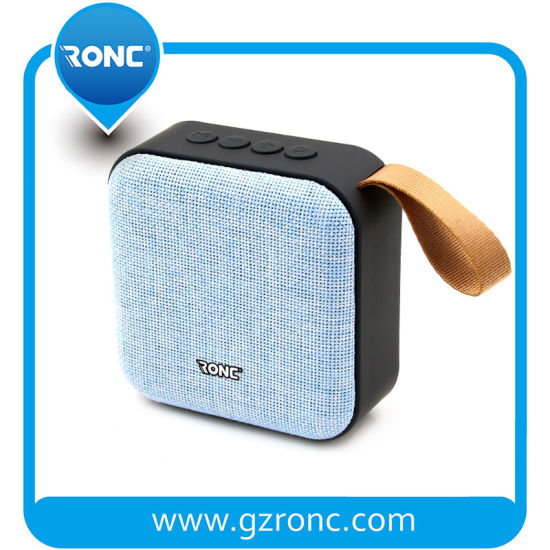 Hot Sale Outdoor V4.2 FM Sound Box Mini Portable Stereo Bluetooth Speaker pictures & photos