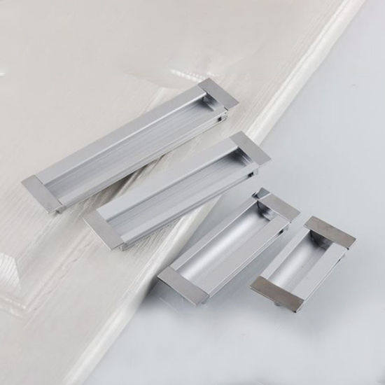 Wholesale Home Decoration Embedded Cabinet Door Concealed Pull Handle