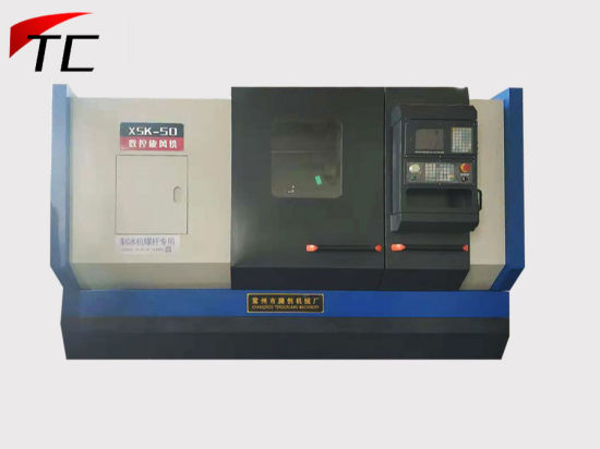 CNC Thread Whirling Machine for Screw of Ice Machine