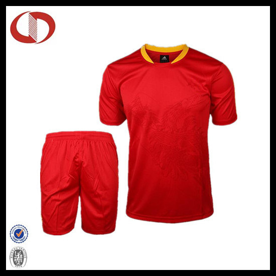 Custom Garment Top Quality Soccer Jersey /Soccer Uniform pictures & photos