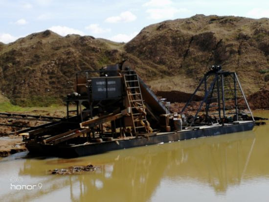 100m3/Hour Bucket Chain Gold Mining Dredger for Sales in New Papua Guinea pictures & photos