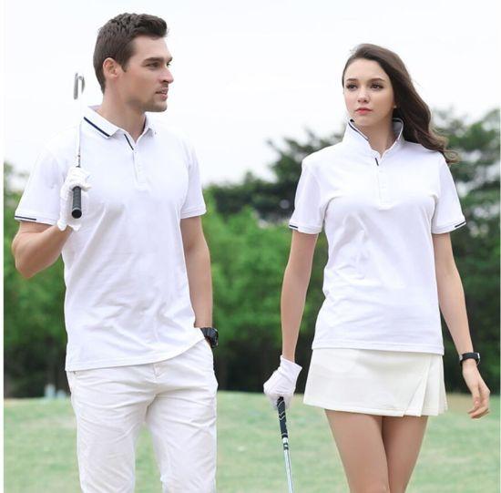 100% Cotton Pique Polo Cotton T Shirt for Men