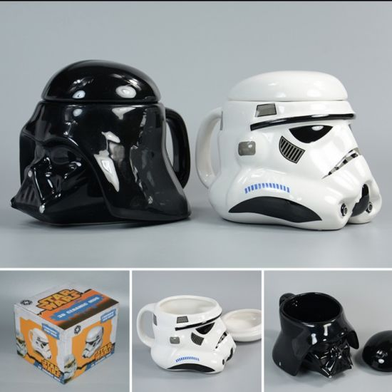 Hot Sale Stars Wars Ceramic Coffee Knight Mug Cup pictures & photos
