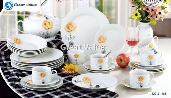 42PCS Western Style Set of Dishes Porcelain Dinnerware & China 42PCS Western Style Set of Dishes Porcelain Dinnerware - China ...