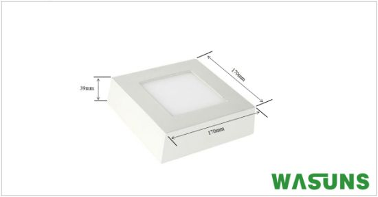 LED 12W Surface Mounted Square Light Lamp LED Panel pictures & photos
