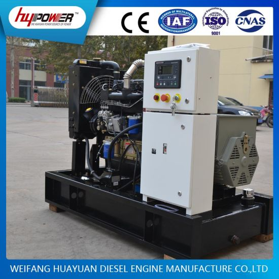 30kVA Open Electric Start Diesel Generator with Weifang 4 Cylinder Diesel  Engine