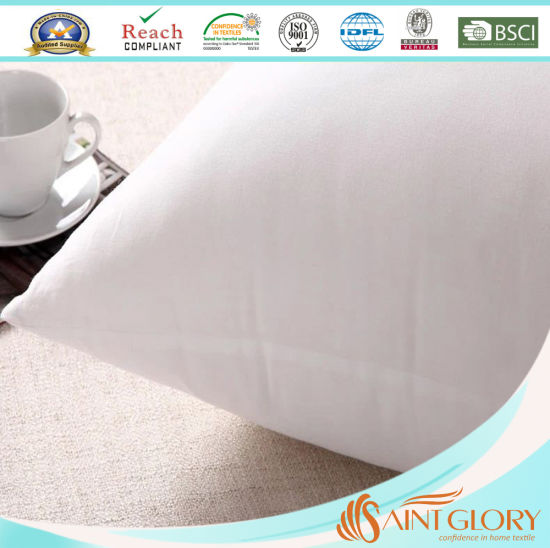 Cheap Soft Hotel Used Hollowfiber Polyester Cushion Pillow Insert pictures & photos