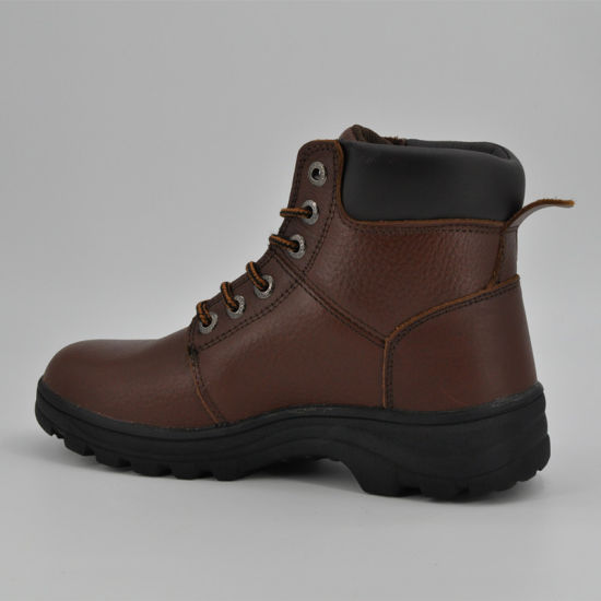 6baa5f7d Women Steel Toe Cap Leather Safety Boots, Safety Shoes Ufc004 pictures &  photos