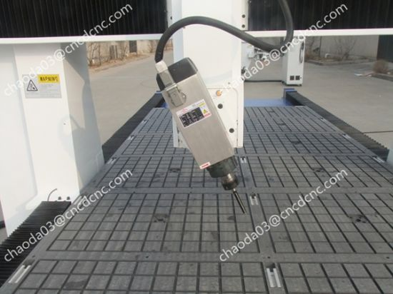 4 Axis CNC Milling Machine for Door Lock Holes Drilling pictures & photos